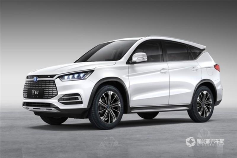 宋EV500 2019款  智联领尚型