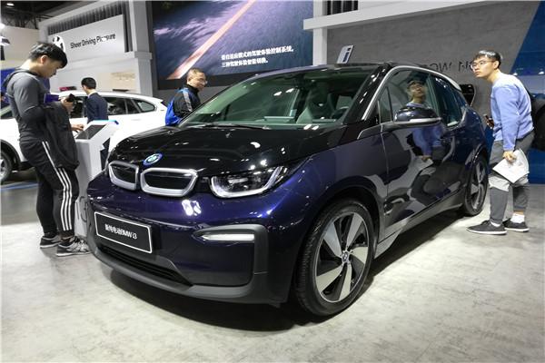 2019款宝马i3亮相广州国际车展