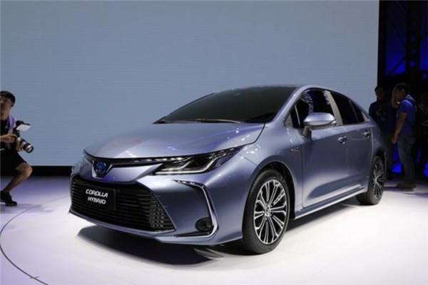 广州车展2019款丰田卡罗拉双擎全球首发