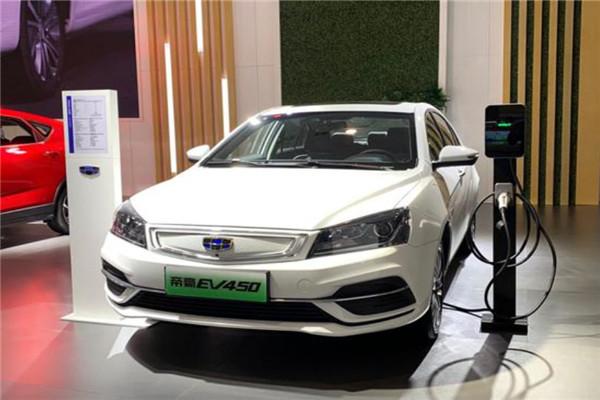 2018广州车展吉利帝豪EV450