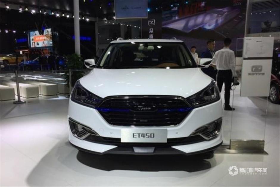 众泰纯电动SUV ET450正式亮相8