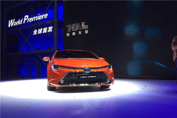广州车展实拍全新一代雷凌双擎