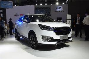广州车展实拍众泰纯电动SUV ET450