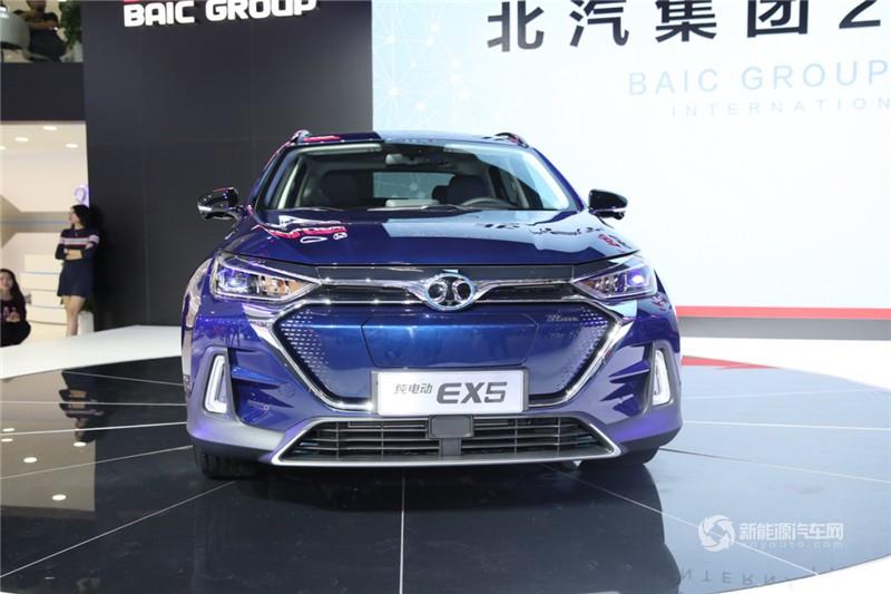 北汽EX5 2019款 悦风版