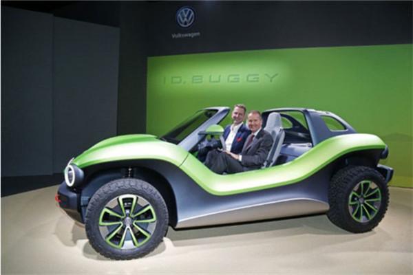 大众ID. BUGGY纯电动沙滩概念车