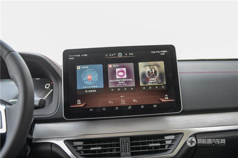 唐EV 2019款 600D 四驱智联创世型
