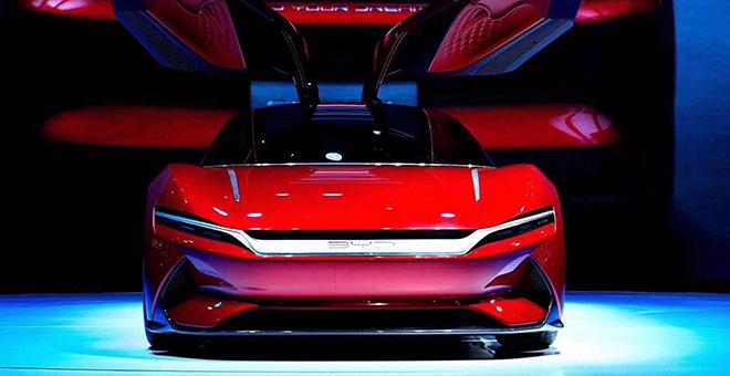 2019年上海国际车展—BYD Eseed GT
