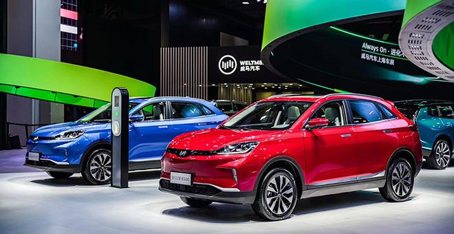 2019年上海国际车展—威马汽车