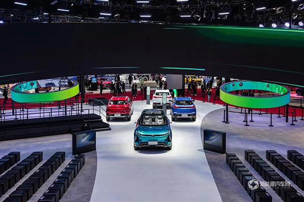 2019上海国际车展—威马汽车展台
