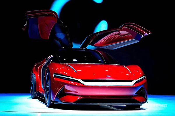 2019上海国际车展—BYD Eseed GT