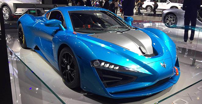 2019上海国际车展——北汽新能源ARCFOX展台