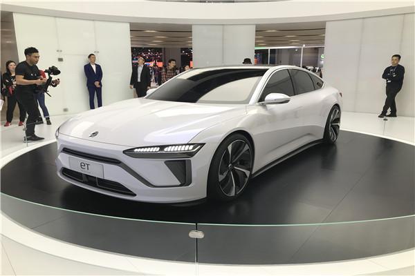 ET Preview领衔 蔚来车型集体亮相上海车展