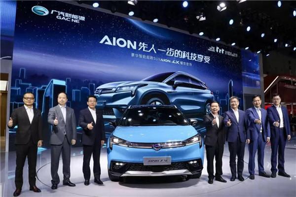 广汽新能源 Aion LX闪耀上海车展
