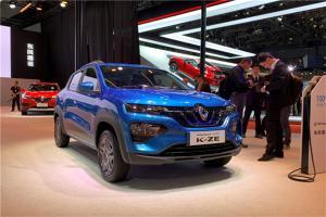 欧洲车的品质国产车的售价 上海车展实拍-雷诺K-ZE