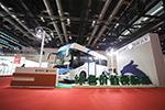 创新研发,争做标杆——申龙氢燃料客车亮相北京展会