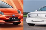 谁才纯电小车中最靓的仔? 比亚迪e1 VS欧拉R1
