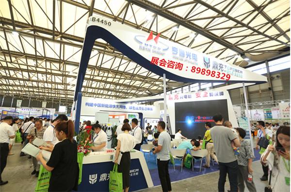 房产、物业等组团参观采购,8月上海充电设施展空前火热