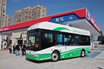 """浙江首条氢燃料电池公交线首发,""""氢时代""""见证金旅风采"""