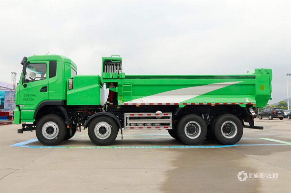 比亚迪T10ZT 31T 8X4 5.6米纯电动自卸车