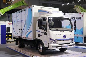 福田欧马可智蓝 4.5T 4.14米单排纯电动厢式运输车(BJ5045XXYEV3))
