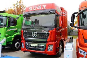 陕汽德龙X5000 轻量化版 6X4 排半燃料电池牵引车