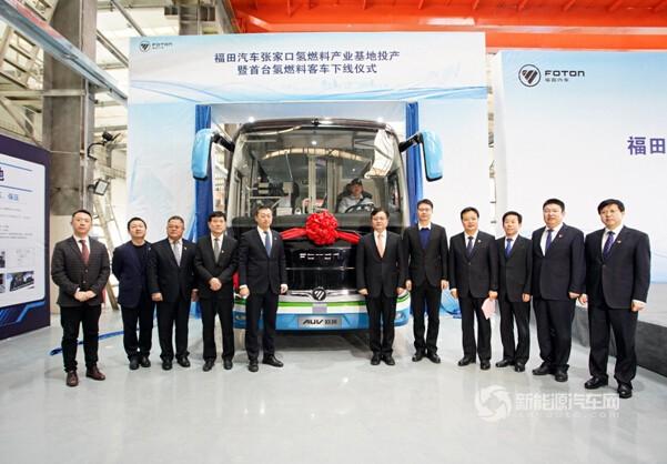 """""""氢""""动冬奥--福田汽车张家口氢燃料产业基地迎来 """"开门红"""""""