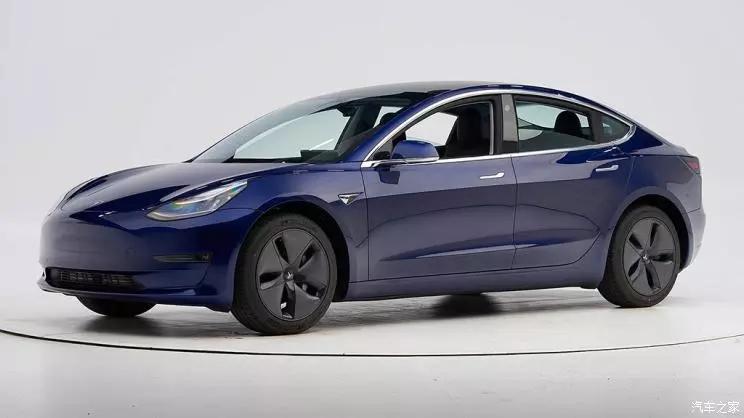 2020年最佳安全车型名单,特斯拉Model 3上榜