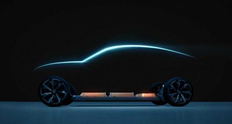 雪佛兰新纯电动车预告图 或为科迈罗EV