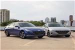 第七代现代伊兰特推混动版 新车预计今年7月国产