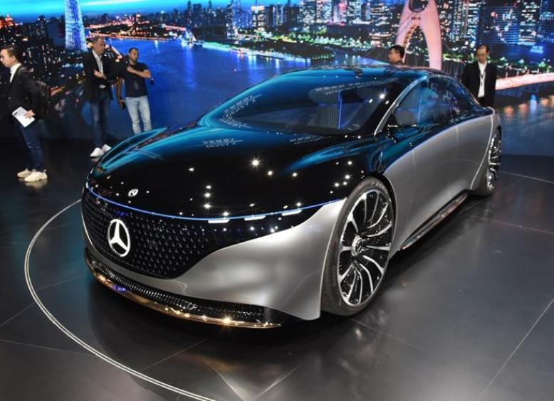 奔驰EQS引入AMG版本 或将2022年面世