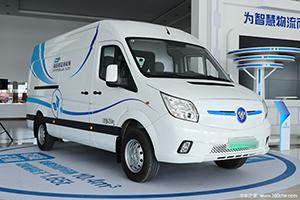 福田图雅诺智蓝 5.99米纯电动物流运输车
