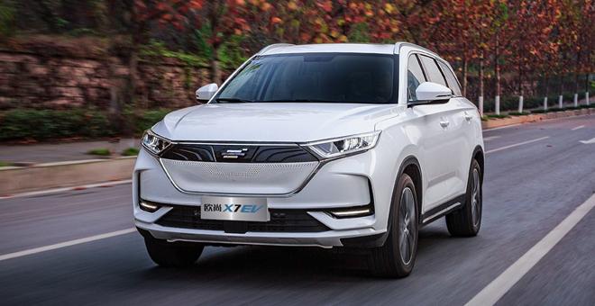 首付59900,长安欧尚SUV-X7EV,开回家!