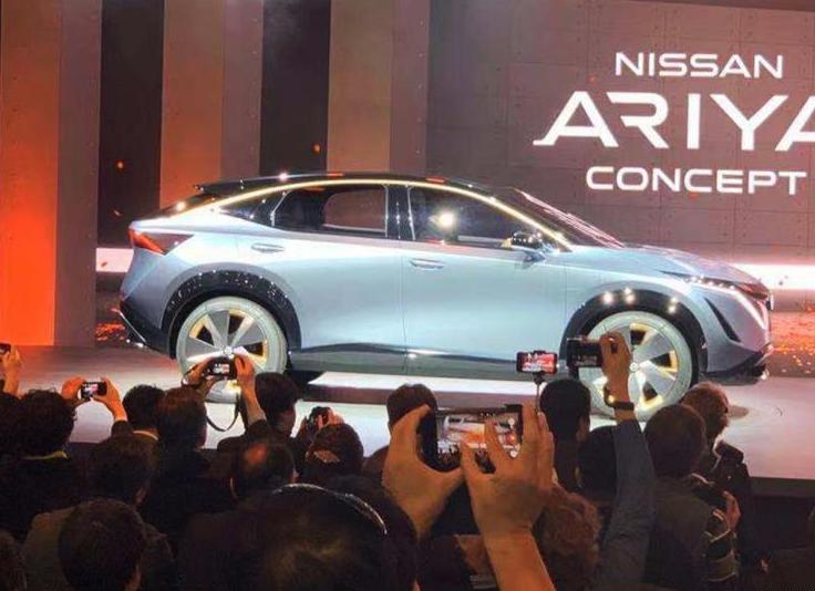 日产纯电动SUV Airya预告图发布 于7月15日亮相