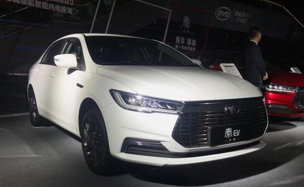 比亚迪秦EV新增车型上市 补贴后14.68万