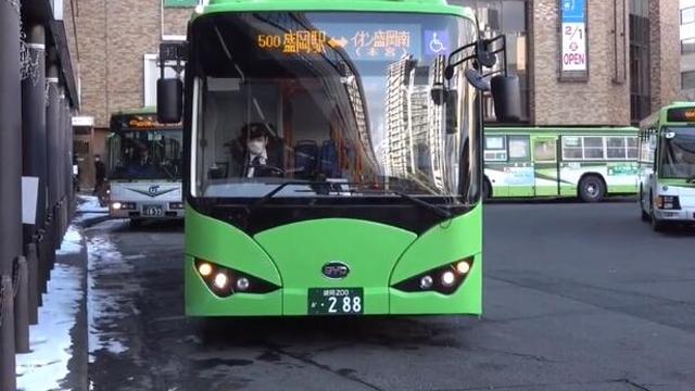 日本新能源技术很强,为何选购比亚迪纯电动大巴?