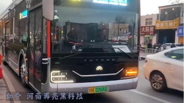 """宇通""""黑金刚"""",智能无人驾驶,已在郑州试运营"""