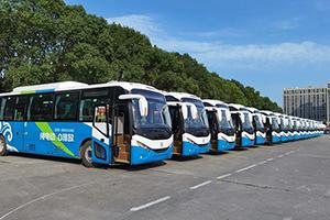 """银隆新能源纯电动公交,绿色出行扮靓""""最美杭州"""""""