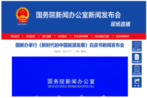 促进氢燃料电池车发展 《新时代的中国能源发展》白皮书发布