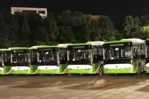 美好绿色出行——亚星纯电动公交再赴山城重庆