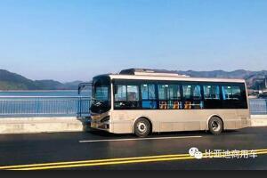 """发展绿色低碳交通,比亚迪守护千岛湖""""秀水青山"""""""