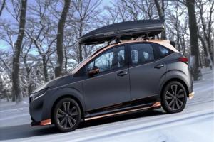 日产Note Play Gear概念车在2021东京改装车展发布