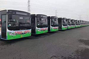 新年焕新颜--安凯G9新能源公交车正式亮相湛江公交