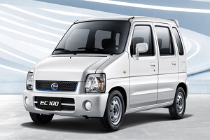 售5.58万起 新款北汽EC100/EV2上市
