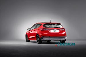 新款福特嘉年华渲染图 预计将转向纯电动车市场
