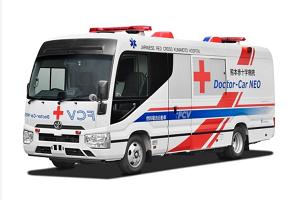 世界首辆燃料电池移动医疗车 日本熊本医院和丰田联合推出