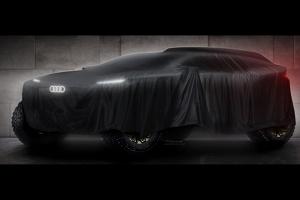 奥迪达喀尔比赛原型车基本完成 增程动力细节曝光