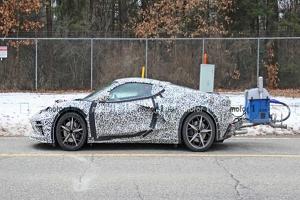 有望于2023年亮相 科尔维特C8 E-Ray混动跑车渲染图