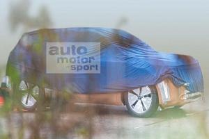 福特全新车油泥模型曝光 将基于MEB生产