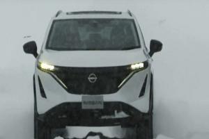 新车百公里加速5.1秒 日产Aria预告片画面曝光