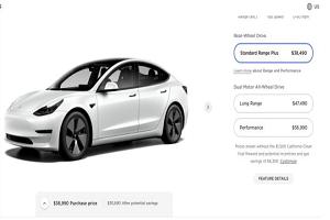 美版Model 3和Model Y价格上调